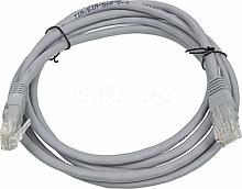 RITMIX RCC-080 Патч-корд UTP литой, кат.5e, 3m, серый