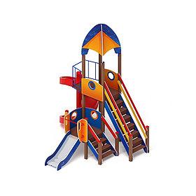Детский игровой комплекс «Космопорт» ДИК 2.14.04 H=750 H=2000