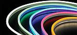 Гибкий неон 10 х 5 мм. 12 v, Flex Neon флекс неон, холодный неон, неоновый шнур. Бухта 50 метров, фото 10