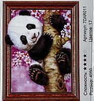 """Алмазная картина """"'Панда """" 7Д 40*50 см"""
