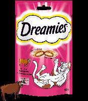 Dreamies с говядиной, уп. 60 гр.