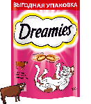 Dreamies с говядиной, уп. 140 гр.