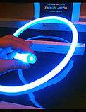 Неоновый шнур, 220 в неон холодный, флекс, круглый неон, 360 градусов. Все цвета. 16 мм, фото 5