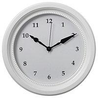 Настенные часы СЁНДРУМ белый 35 см ИКЕА, IKEA