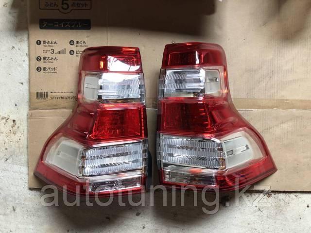 Рестайлинговые фонари на Land Cruiser Prado 150 2014-2017 так же подходят на 2009-13 г.