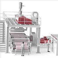 Meltblown M Оборудование для производства нетканых материал мельтблаун Enka Tecnica