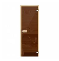 Дверь стеклянная для бани и сауны 170*70 см