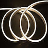 Гибкий неон сечение16х8 мм. 220 в. плитка SMD 3528 холодный неон, флекс неон. Flex LED Neon  220 вольт., фото 3