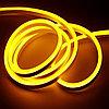 Гибкий неон сечение16х8 мм. 220 в. плитка SMD 3528 холодный неон, флекс неон. Flex LED Neon  220 вольт., фото 4