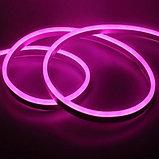 Гибкий неон сечение16х8 мм. 220 в. плитка SMD 3528 холодный неон, флекс неон. Flex LED Neon  220 вольт., фото 5