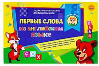 Рыжий кот Дидактическое пособие Первые слова на английском языке