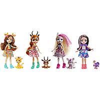 Набор Enchantimals Друзья в Солнечной Саванне куклы+фигурки
