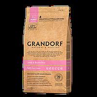 576033 GRANDORF Puppy, сухой корм для щенков, ягнёнок с рисом, уп.3 кг.