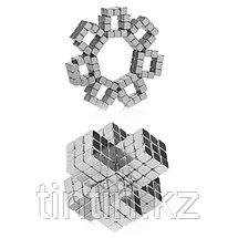Тетракуб Никель (5 мм), 216 кубиков (TetraCube), фото 2