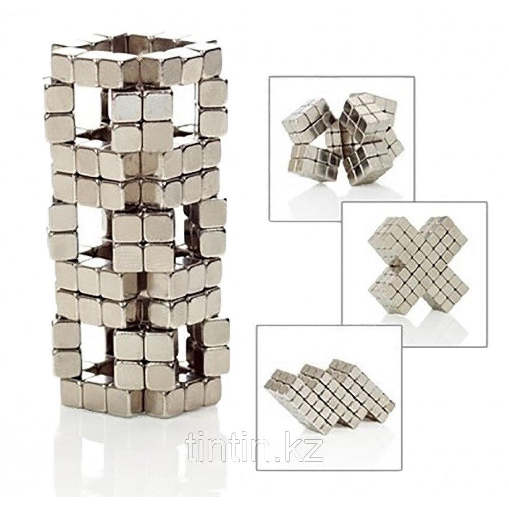 Тетракуб Никель (5 мм), 216 кубиков (TetraCube)