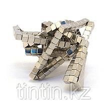 Тетракуб Никель (5 мм), 216 кубиков (TetraCube), фото 3
