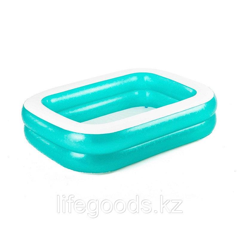 Детский надувной бассейн прямоугольный 201х150х51 см, Bestway 54005 - фото 2