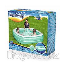 Детский надувной бассейн прямоугольный 201х150х51 см, Bestway 54005, фото 3