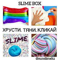 SLIME BOX, Слайм бокс, набор для изготовления слаймов