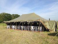 Палатка ПВХ от 40-80 мест армейская пр-во Россия