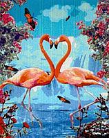 "Картина по номерам ""Фламинго"" 50*40"