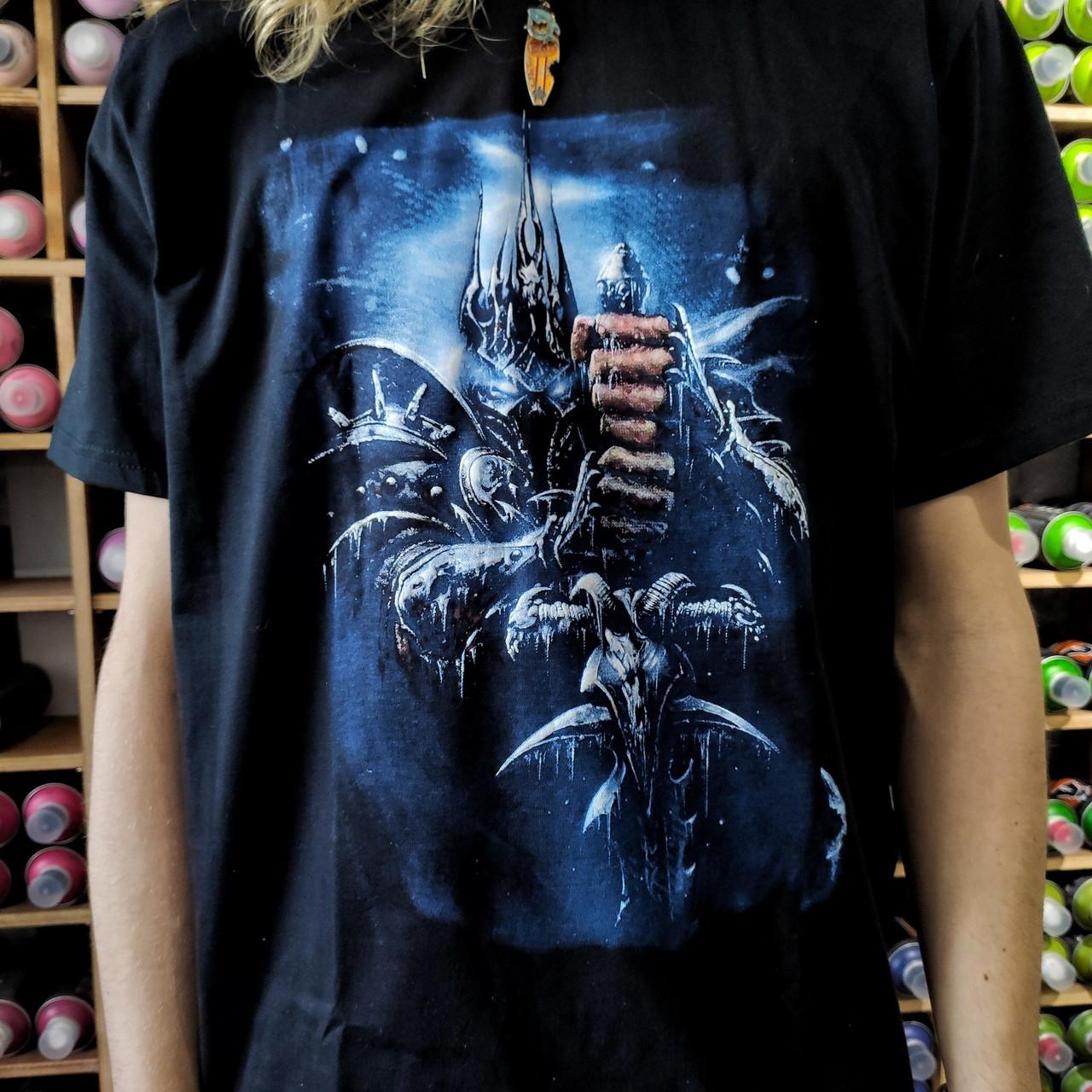 Футболка Король Лич (Артас) - World Of Warcraft - фото 2