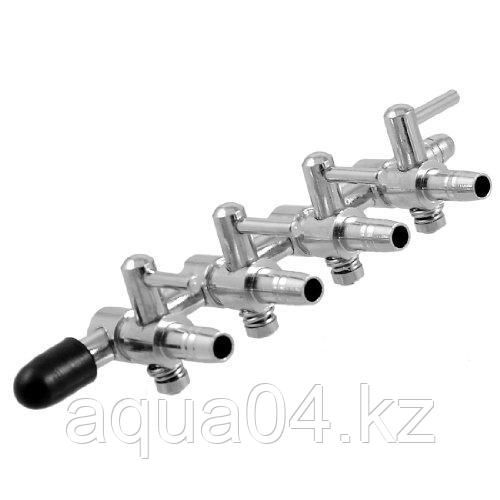 Кран регулировочный металлический 4 мм (1+4)