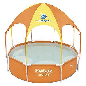 Каркасный бассейн с навесом Bestwey 56432 (244 х 51 см, на 1688 литров), фото 2