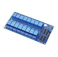 16 канальный модуль реле 5В 10А
