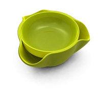 Блюдо для снека Double Dish, зеленая (Joseph Joseph, Англия)