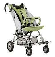 Детская инвалидная кресло-коляска ДЦП Sweety, размер 2, прогулочная Зеленый