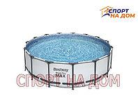 Каркасный бассейн Bestway Steel Pro Max 56438 (457 х 122 см, на 16015 литров )