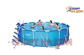 Каркасный бассейн Bestway 56438 (457 х 122 см, на 16015 литров ), фото 2