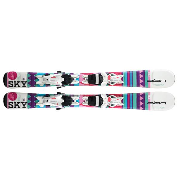 Elan  лыжи горные Sky Qs el 4.5/7.5