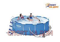Круглый каркасный бассейн Bestwey 56418 (366 х 100 см, на 9150 литров)