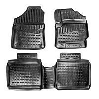 Коврики Autofamily модельные Toyota Fielder c 2012 г. (правый руль), черный цвет, 4шт