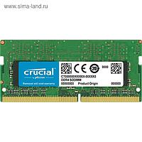 Память DDR4 8Gb 2133MHz Crucial CT8G4SFS824A RTL PC4-19200 CL17 SO-DIMM 260-pin 1.2В