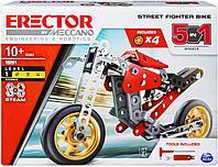 Конструктор Meccano Erector 5 в 1 Street Fighter Bike