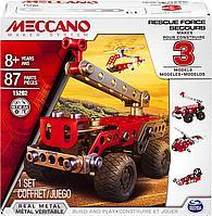 Конструктор Meccano Служба спасения 3 в 1 для мальчиков от 8 лет, фото 1