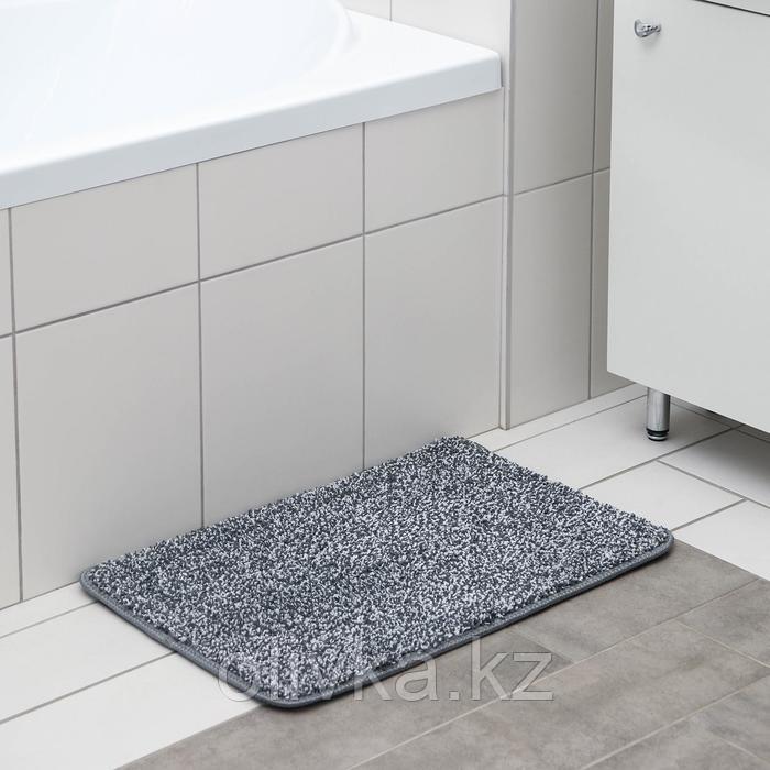 Коврик Доляна «Вилли», 40×60 см, цвет серый
