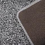 Коврик Доляна «Вилли», 40×60 см, цвет серый, фото 3
