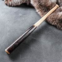 """Сувенирное деревянное оружие """"Бита угольная"""", 70 см"""