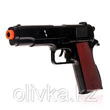 Пистолет-трещётка «Полиция», с кобурой