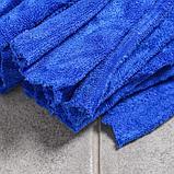 Насадка для швабры ленточная Доляна, микрофибра 200 гр, цвет МИКС, фото 3