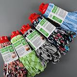 Насадка для швабры ленточная Доляна, микрофибра 200 гр, цвет МИКС, фото 7