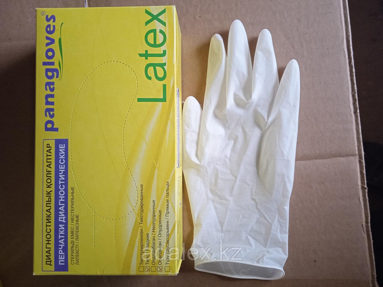 Перчатки латексные неопудренные медицинские одноразовые - фото 4