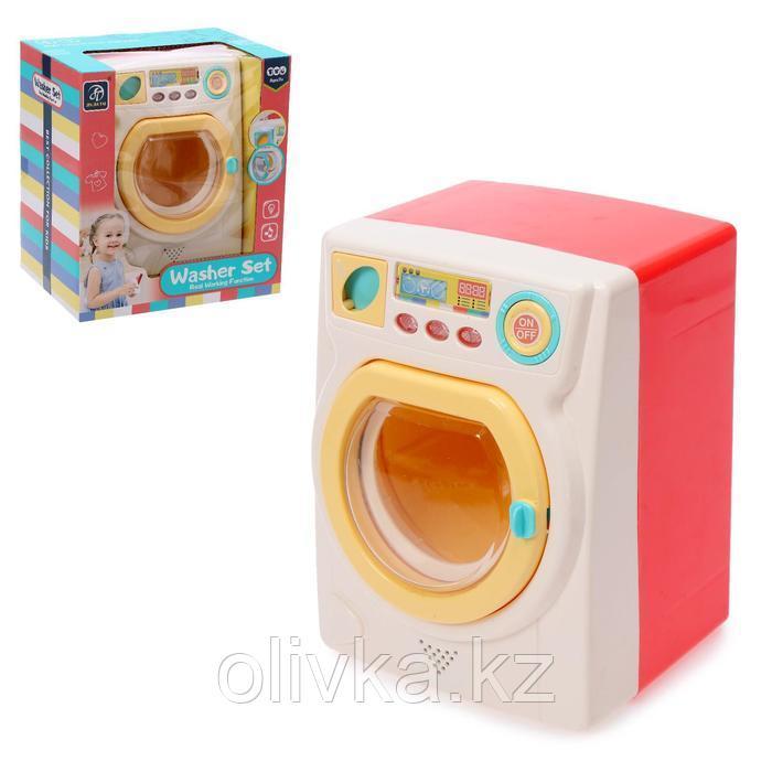 Бытовая техника стиральная машина «Сладкая вата», цвет белый, МИКС