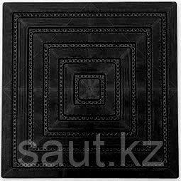 Модульные полимерные плиты черный