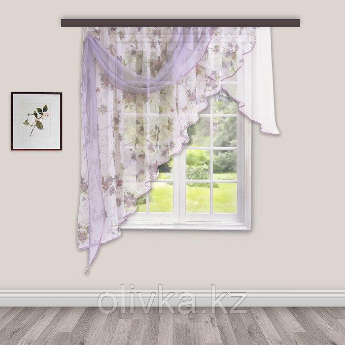 Комплект штор для кухни «Иллюзия» 300х150 см
