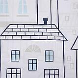"""Комплект штор """"Этель"""" Sweet home blue 145*260 см-2 шт, 100% п/э, 140 г/м2, фото 5"""